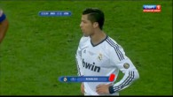 Ronaldo se fait expulser