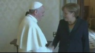 Merkel trifft Papst Franziskus