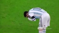 Messi vomit pendant le match