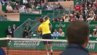 Le smash de revers impossible de Wawrinka