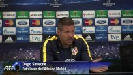 Simeone à l'interview