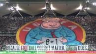 Les fans de Legia protestent
