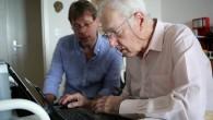 Cours web au domicile d'un senior lausannois