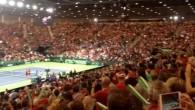 L'entrée de Federer à Palexpo
