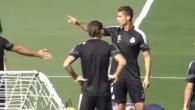Ronaldo fait la leçon à James