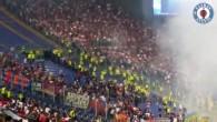 Emeute au Stade olympique de Rome