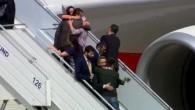 Befreite Geiseln in Ankara angekommen