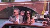 L'arrivée de George Clooney à Venise