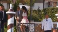 Clooney und Ehefrau düsen über den Grande Canale