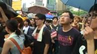 Proteste zum chinesischen Nationalfeiertag