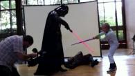 Junior versus Dark Vador
