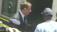 Pistorius auf dem Weg ins Gefängnis