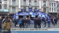 Les fans d'Everton à Lille