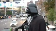 Darth Vader in den Strassen Kiews