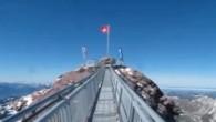 Un pont suspendu de 107 mètres aux Diablerets