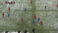 Le coach du CSKA Sofia assomé par une boule de neige