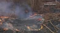 Lava erreicht Häuser auf Hawaii