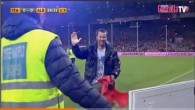 Invasions de terrain lors du match Italie - Albanie