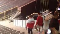 Federer à l'entraînement à Lille