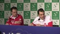 Federer zeigt Humor nach der Niederlage