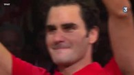 Les larmes de Federer
