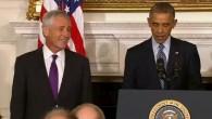 Barack Obama bedankt sich bei Chuck Hagel