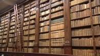 Sensationeller Fund in Bibliothek