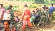 Erdrutsch verschüttet Dorf in Indonesien