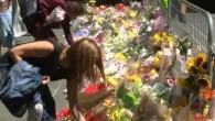 Blumen für die Opfer der Geiselnahme