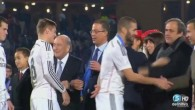 Ronaldo snobe Platini