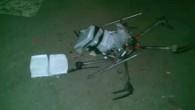Mit Drogen beladene Drohne abgestürzt