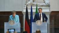 Merkel und Renzi pochen auf Reformen