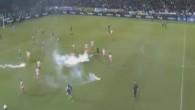 Les incidents lors de Panathinaikos - Olympiakos (part. 2)