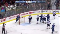 Le but de Weber pour les Canucks
