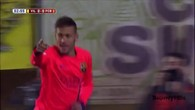 Le Barça en finale grâce à un doublé de Neymar