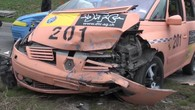 Spectaculaire crash test au Mont-sur-Lausanne