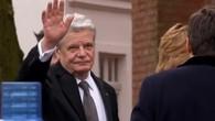 Bundespräsident besucht Trauerfeier