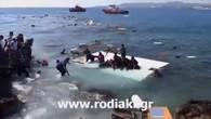 Bootsunglück vor Rhodos
