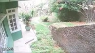 Überwachungskamera filmt Erdbeben in Nepal
