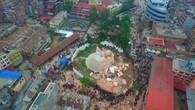 Drohne zeigt Ausmass der Zerstörung