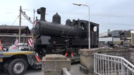 Un locomotive de 1910 arrive à Vevey