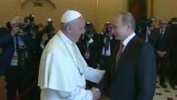 Papst empfängt Putin