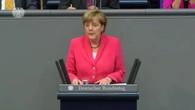 Merkel äussert sich im Bundestag zu Griechenland