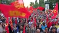 Demo gegen Regierung Tsipras