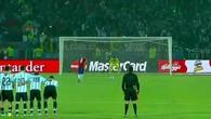 La séance de trirs au but de la Copa 2015