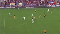 Hazard s'amuse dans la défense de Barcelone