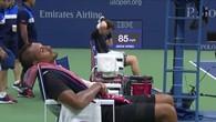 La sieste de Kyrgios à l'US Open