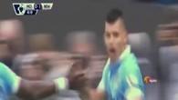 Les 5 buts d'Agüero