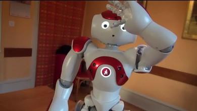 Zora, le robot qui fait danser les EMS