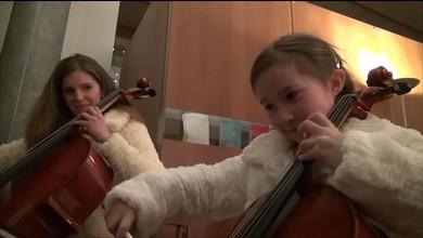 Constance, 8 ans et mini-star de Champions!